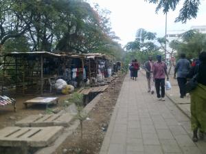 Market stalls, Kisumu